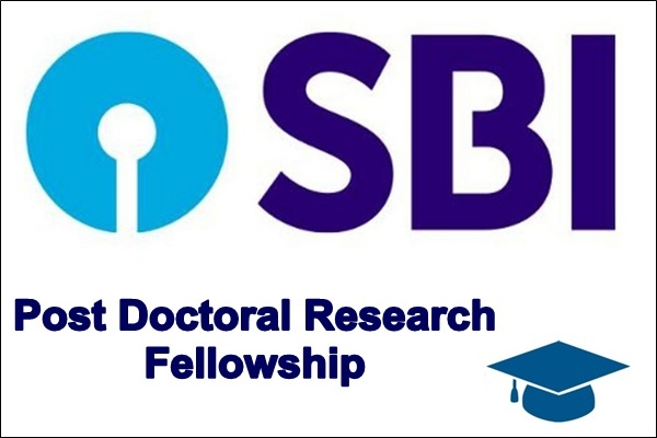 SBI Post Doctoral Research Scholarship