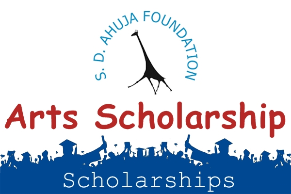 SD Ahuja Foundation Art Scholarship