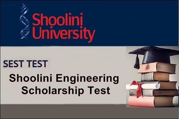 Shoolini Engineering Scholarship Test
